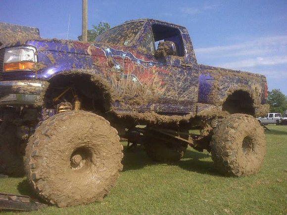 Muddy ford 1995 f150