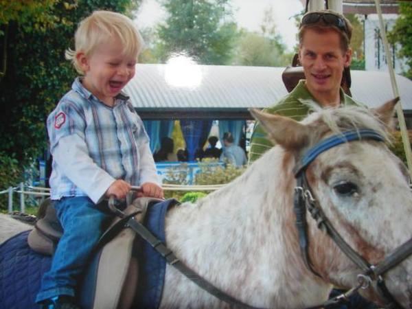 first horseback ride