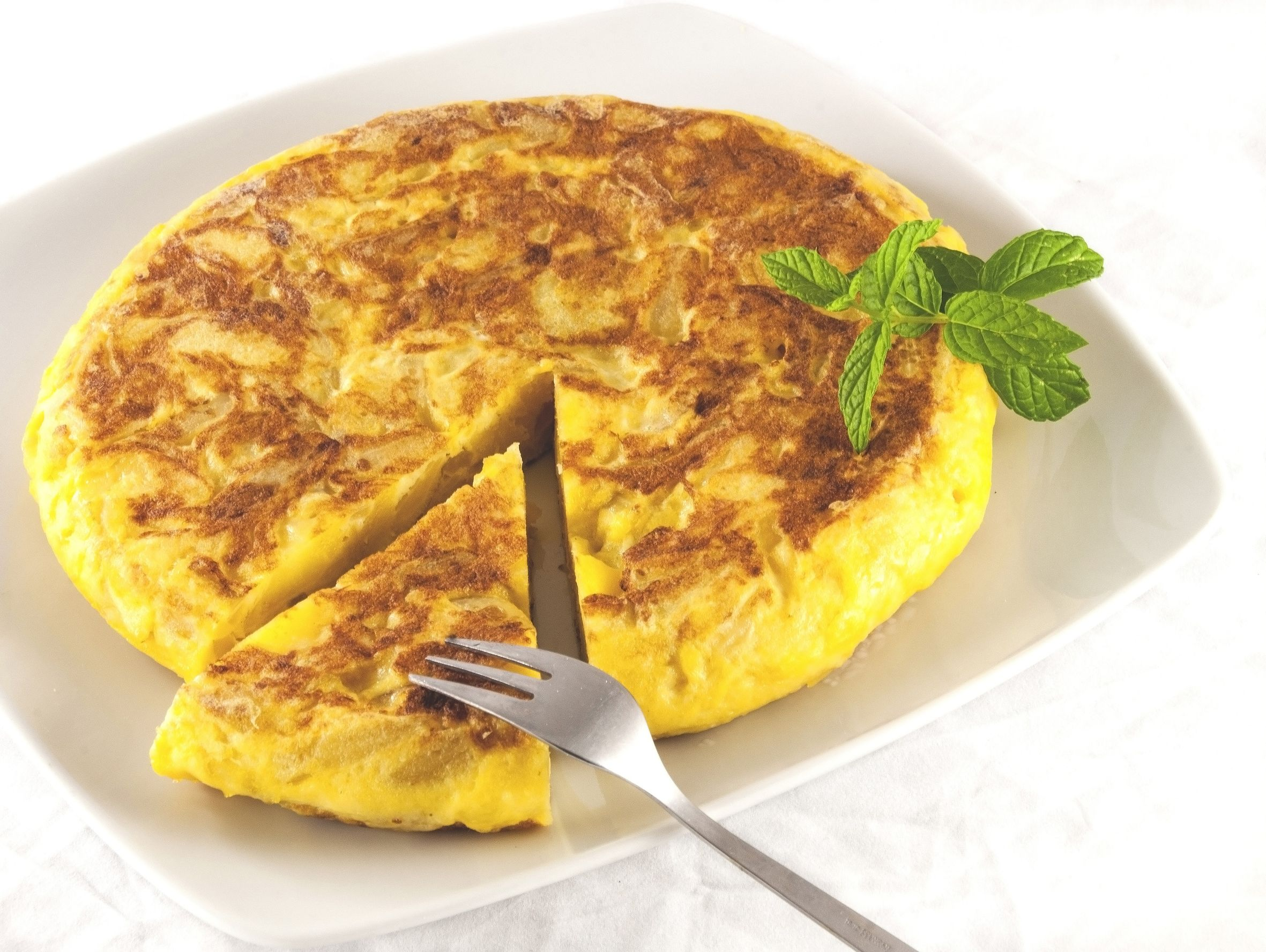 Spanish Omelette Recipe — Dishmaps