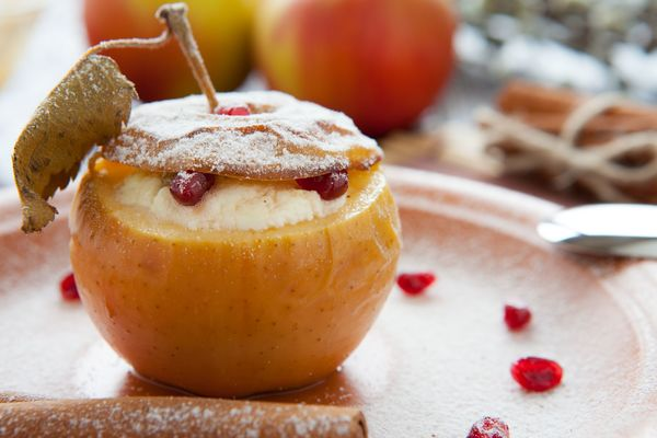 baked apple free recipe