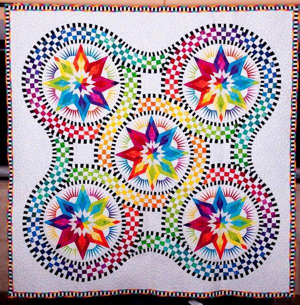 Intricate Quilted Art January 2 24 Blocks