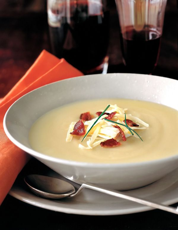 Starter Recipe: Slow-Cooked Cheesy Potato Soup – 12 Tomatoes