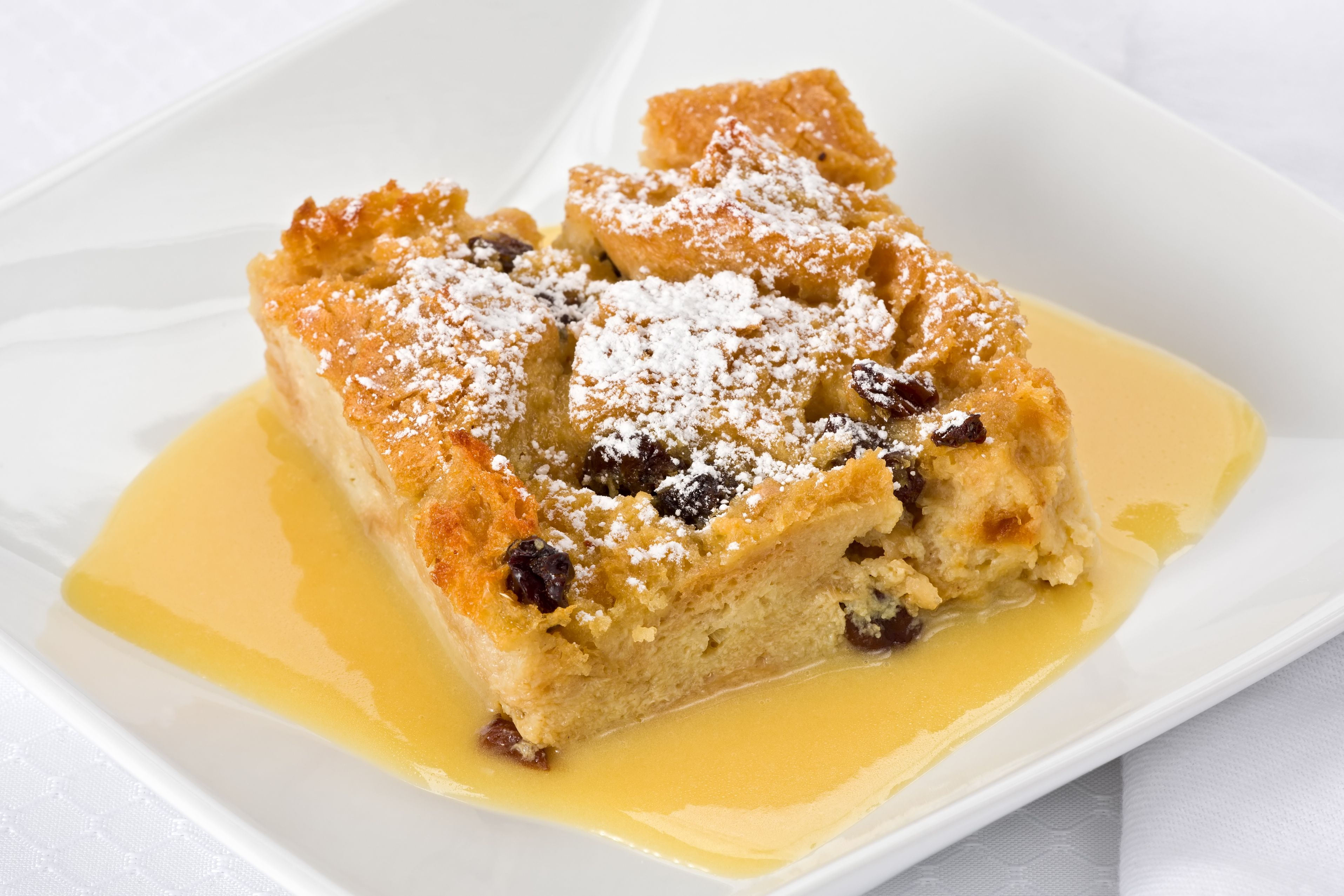 Dessert Recipe: Bread Pudding in Bourbon Sauce - 12 Tomatoes