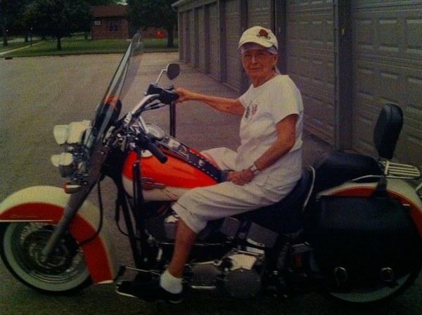 granny biker