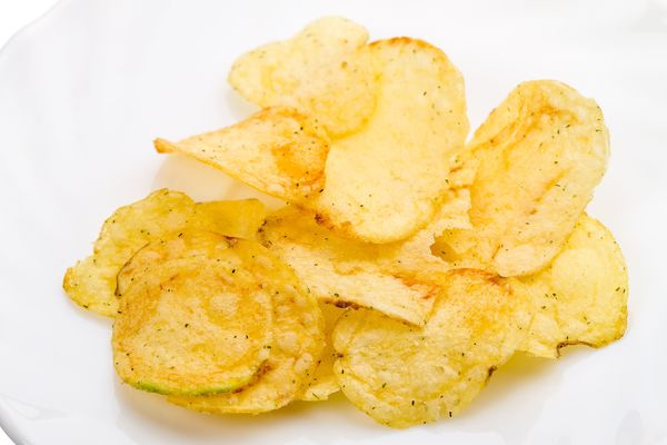 Homemade Snack Recipe: Baked Potato Chips