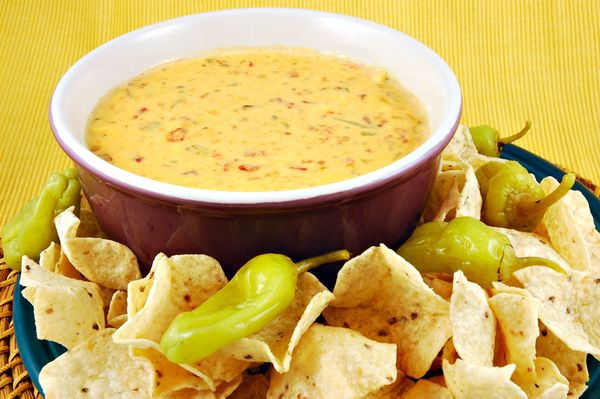 Classic Dip Recipe: Chile Con Queso