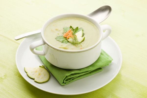 Creative Starter: Green Tomato Soup