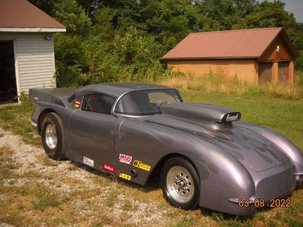 1957 corvette drag
