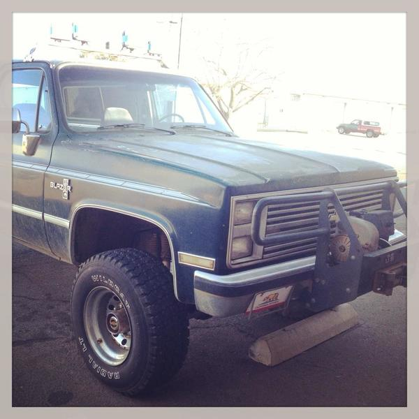 1986 trailblazer