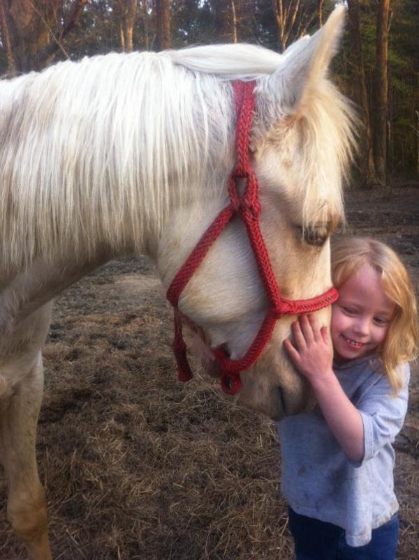 girl in horse