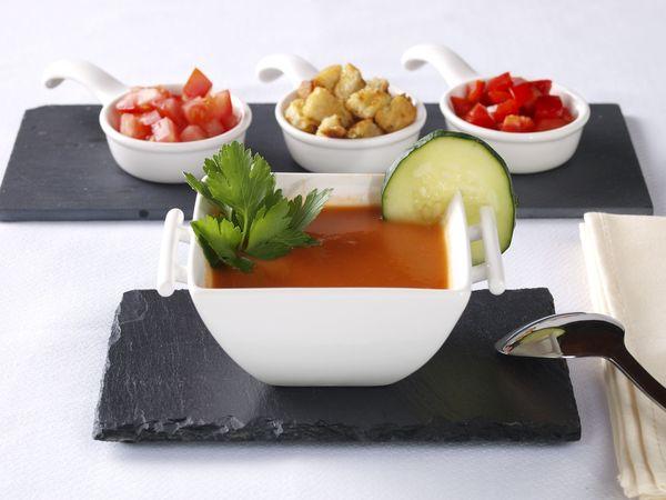 Spanish Starter: Gazpacho Andaluz – 12 Tomatoes