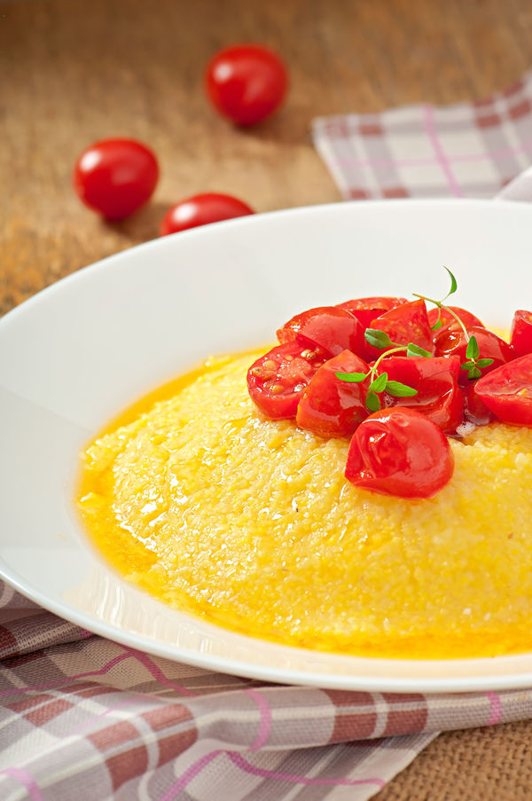 ... creamy polenta creamy polenta with goat cheese creamy polenta alla