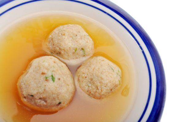 Traditional Jewish Recipe: Matzoh Ball Soup