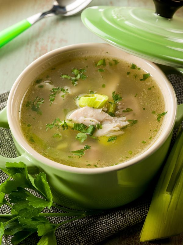 Scottish Soup Recipe: Chicken and Leek Soup