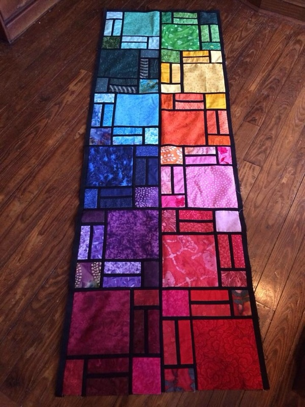 Colorful Creations Stunning Stained Glass Quilts 24 Blocks