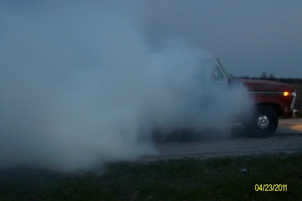 car burnout