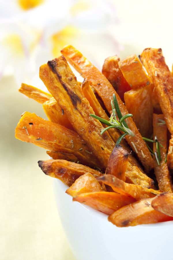 Side Recipe: Baked Sweet Potato Fries