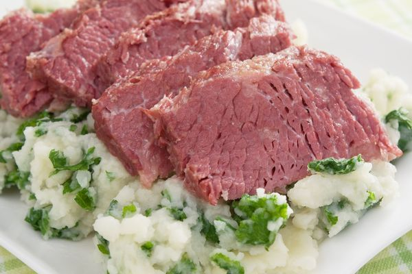 Irish Recipe: Corned Beef With Vegetables