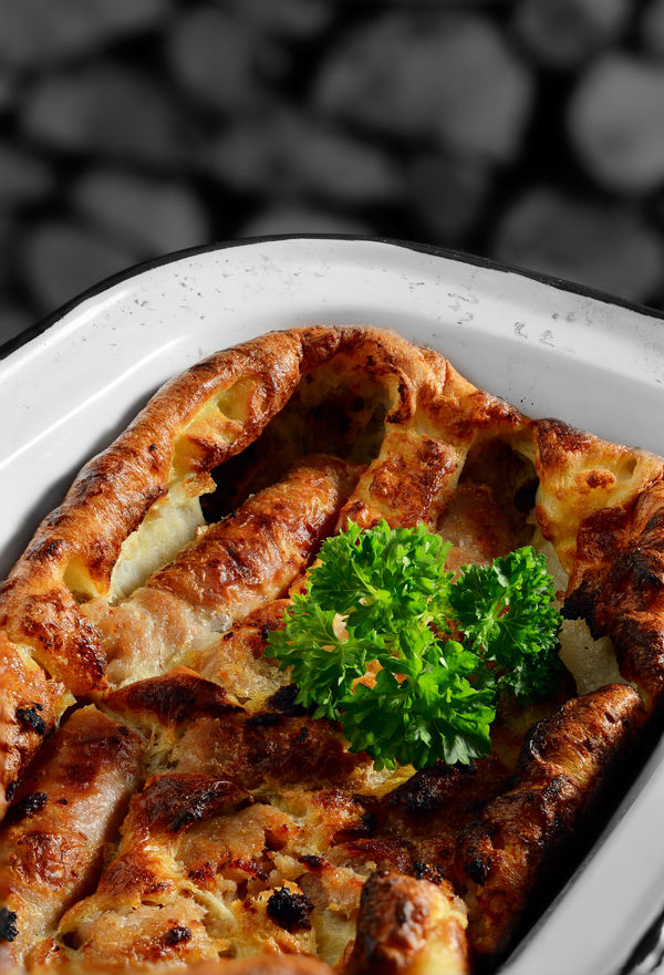 British Recipe: Toad in the Hole With Onion Gravy