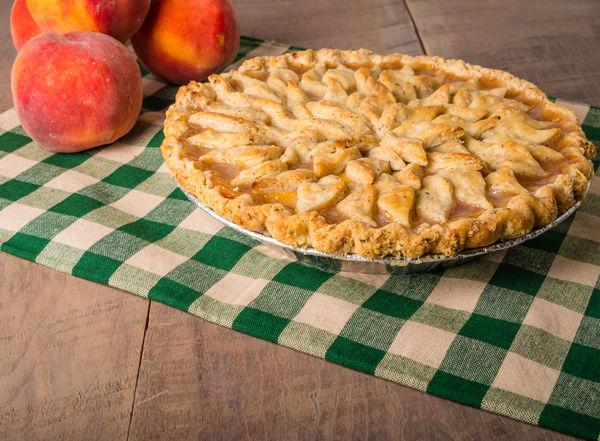Dessert Recipe: Fresh Peach Pie