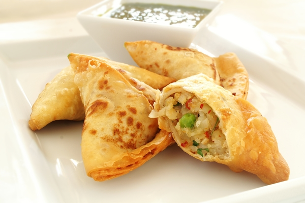 Indian Appetizer: Savory Samosas