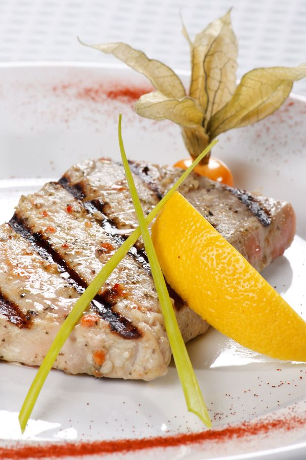 Seafood Recipe: Grilled Tuna Steaks