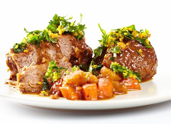 Creative Grill Recipe: Flank Steak with a Balsamic Glaze and Orange Gremolata