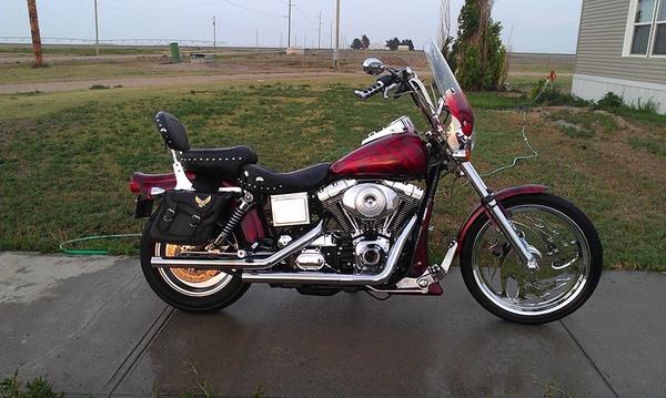 clean motorcycle