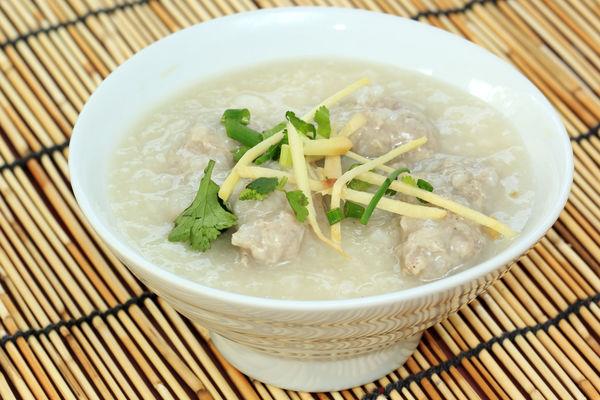 Chinese chicken rice congee recipe