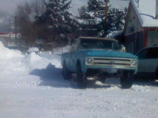 1967 in snow