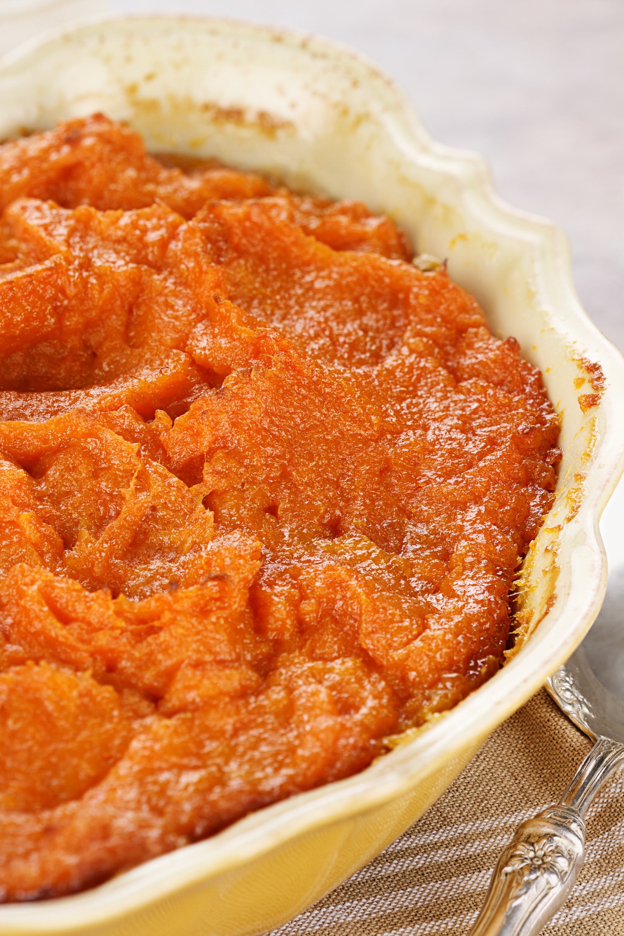 Mashed Sweet Potato Casserole With Bourbon Recipe — Dishmaps