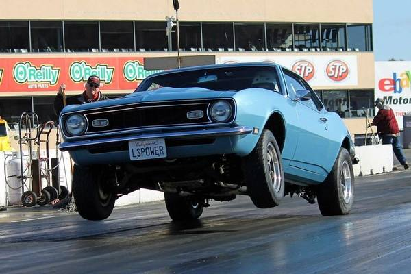 camaro drag racing