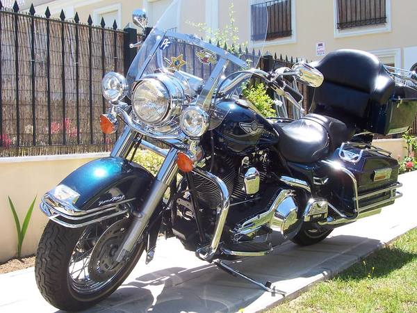 2003 road king anniversary edition