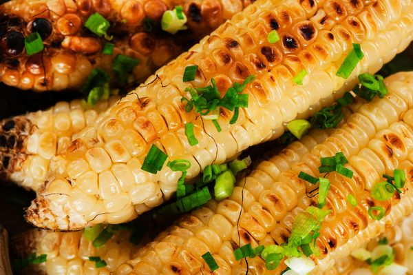Sizzling Side Dish: Grilled Corn on the Cob