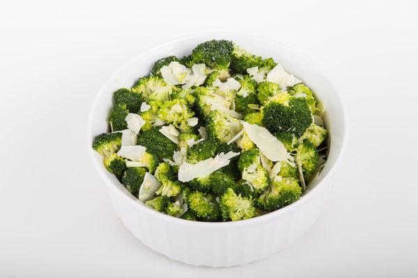Simple Side Dish: Broccoli with Lemon & Parmesan