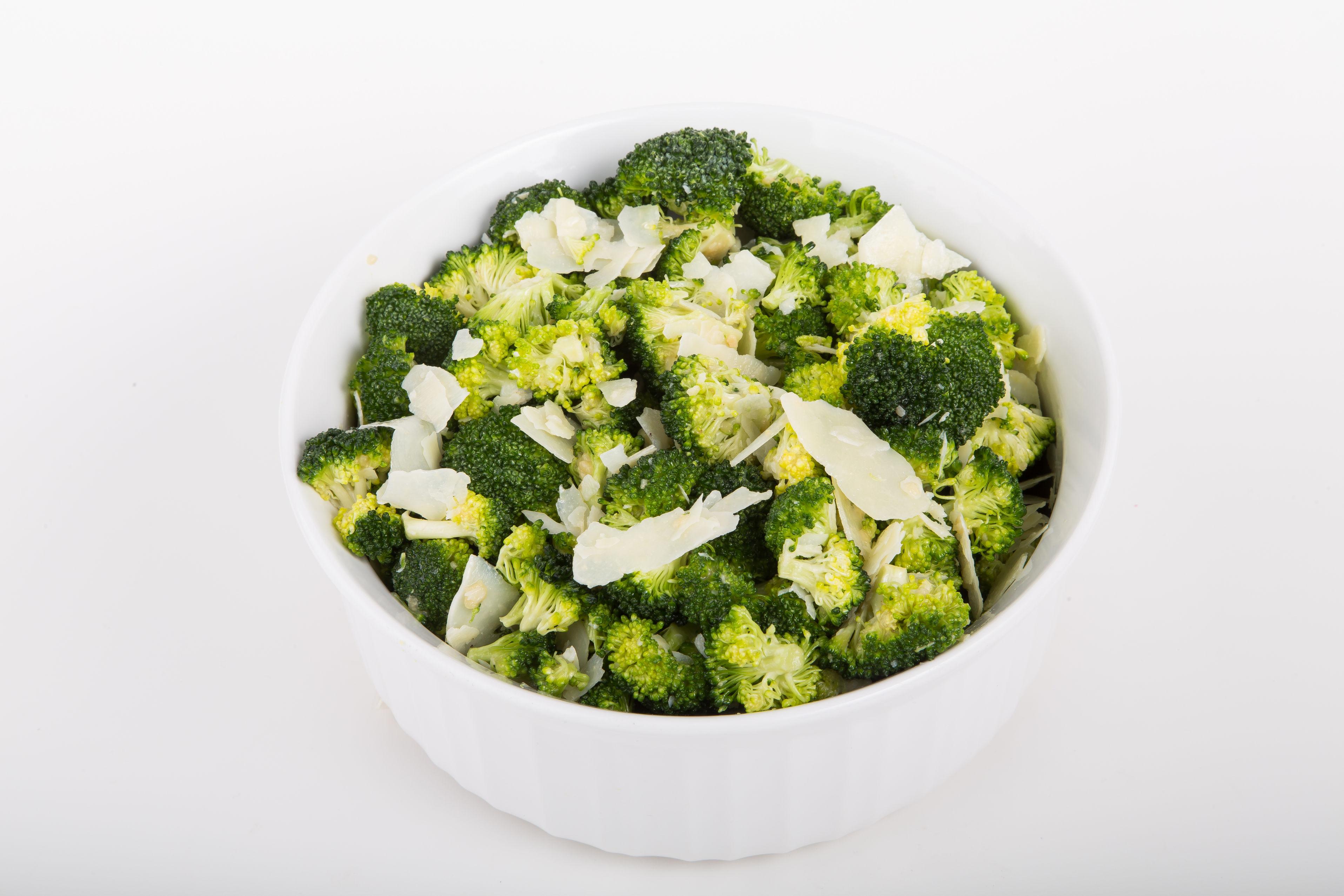 Simple Side Dish: Broccoli with Lemon & Parmesan - 12 Tomatoes