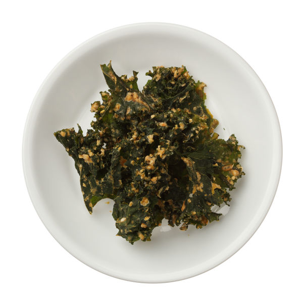 Simple Vegetarian Snack: Baked Kale Chips