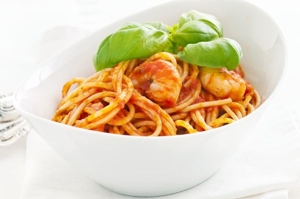 Spicy Sauce Recipe: Shrimp Fra Diavolo with Pasta