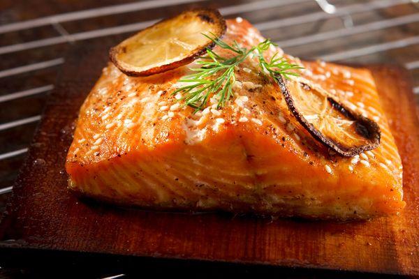 Seafood Recipe: Cedar Plank Salmon