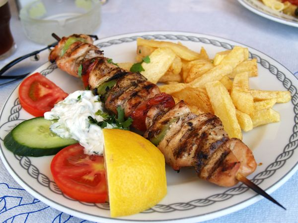 Greek Recipe: Pork Souvlaki