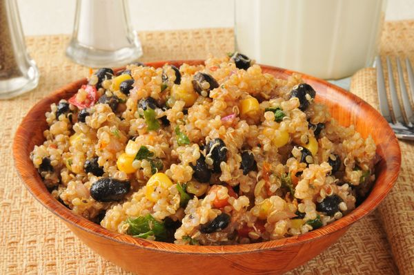 Southwestern Side Dish: Black Bean Quinoa