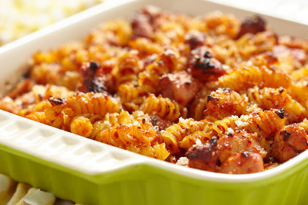Mac and Cheese: Buffalo Chicken Style
