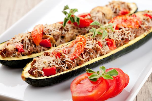 ... Are Endless With These Sausage-Stuffed Zucchini! – 12 Tomatoes