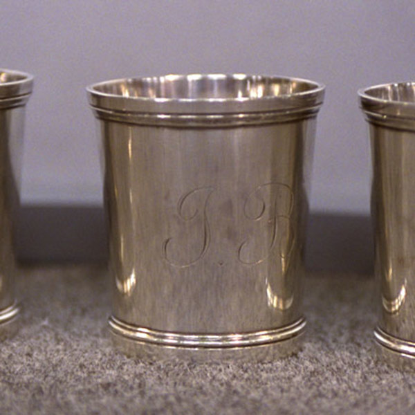 Antique Spotlight: Silver Julep Cups