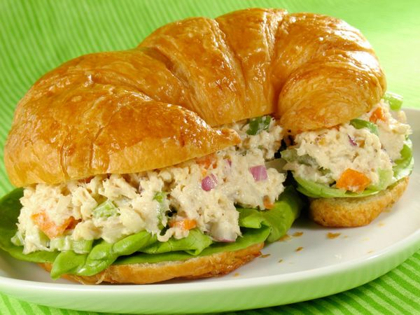 Super Simple Chicken Salad Sandwich