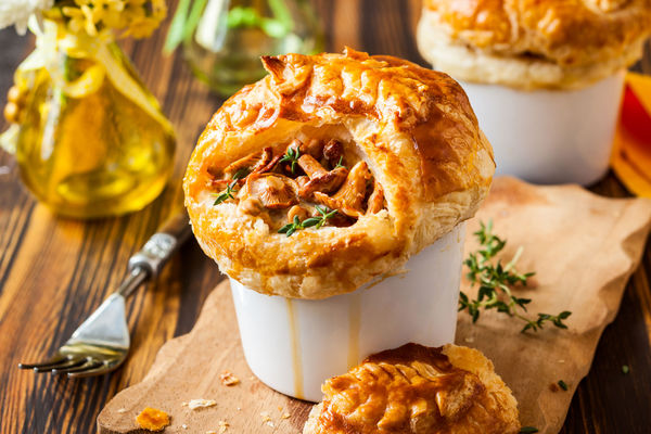There's something comforting about a warm, flaky pot pie fresh out ...