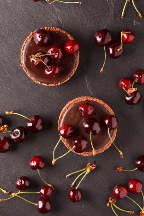 Decadent Chocolate Recipe: Ganache Mini Tarts