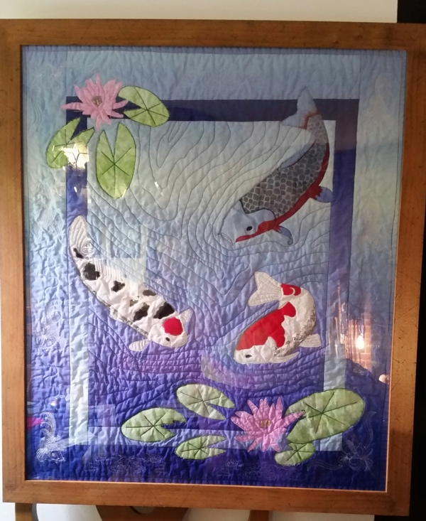 September 9 featured quilts on 24 blocks 24 blocks for Koi pond quilt pattern