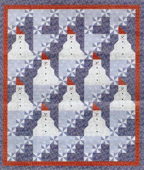 5 Free Christmas Quilt Patterns – 24 Blocks