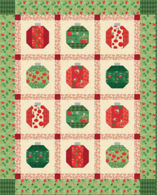 Quilting Christmas Ornaments Patterns : 5 Free Christmas Quilt Patterns 24 Blocks